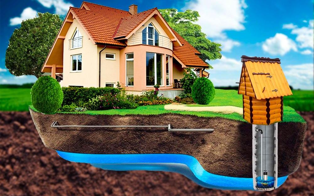 Вода в частный дом из колодца