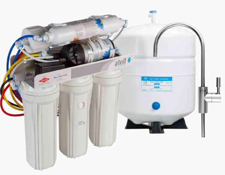 Система очистки обратного осмоса для дома и квартиры