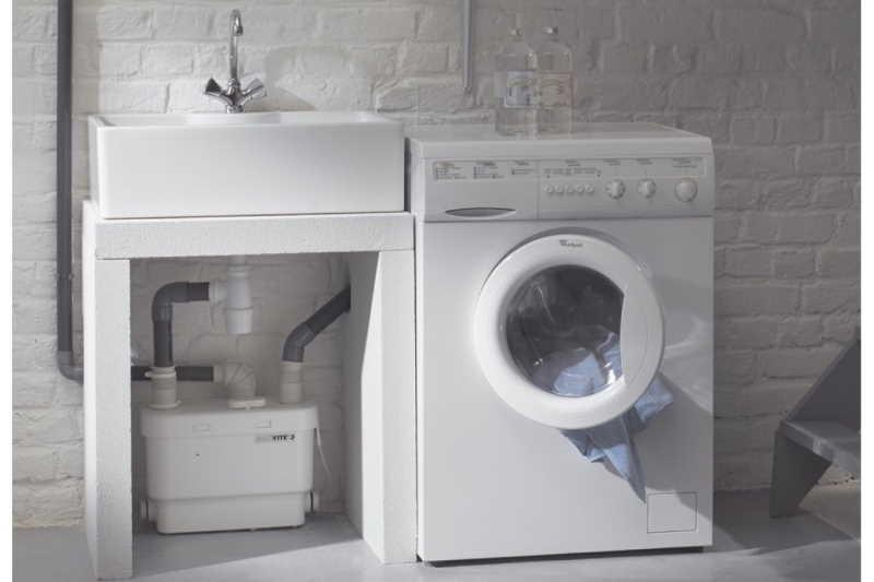 Установка стиральной машины в квартире и частном доме