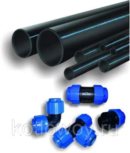 Трубы ПНД для дачного водопровода