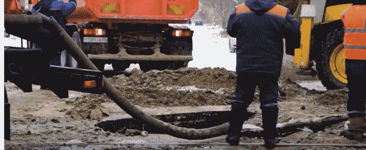 Аварийные работы на трубопроводе