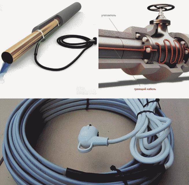 Как выбрать и установить кабель для обогрева водопровода.
